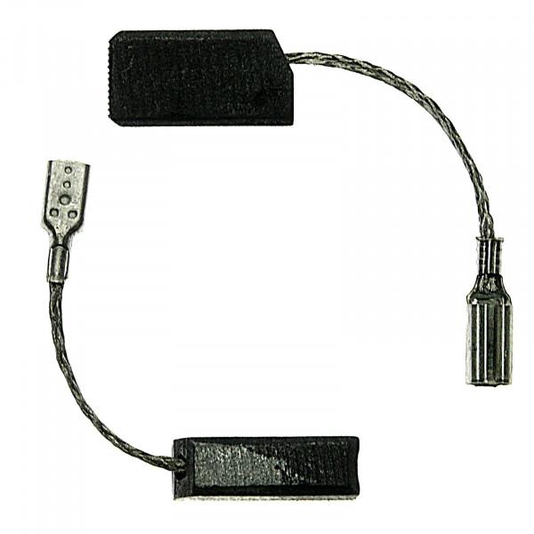 Spazzole di carbone per BOSCH GEX 150, GWS 5-100, GWS 5-115 - 5x8x15,5 mm - PREMIUM (P103)