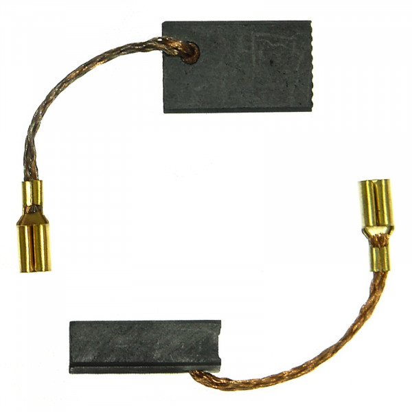 Spazzole di carbone per METABO WBE 700, W 7-100, W 7-115 Quick - 5x10x16 mm - PREMIUM (P2074)