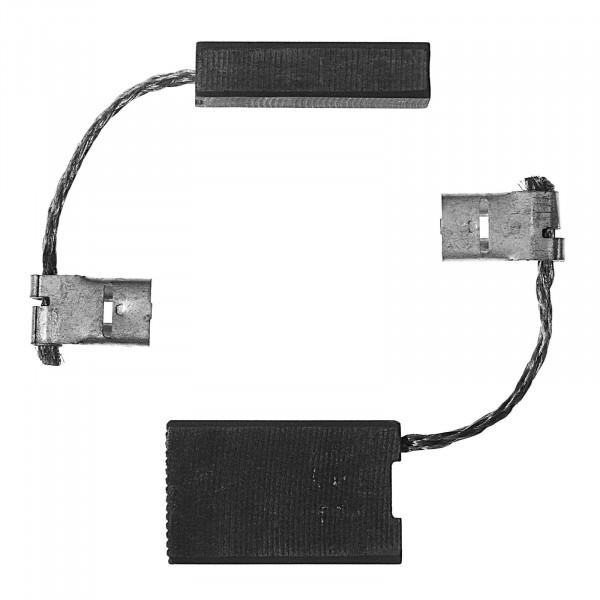 Spazzole di carbone per DEWALT D 28421 A, D 28422 A, D 28423 A - 6,3x16x26 mm - PREMIUM (P2094)
