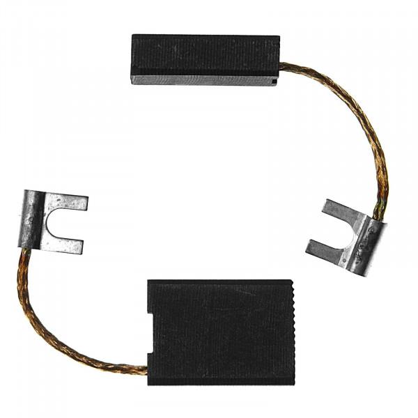 Kohlebürsten für BLACK & DECKER PAG822, P 5913, P 5916 - 6,3x16x22 mm - PREMIUM (P2076)