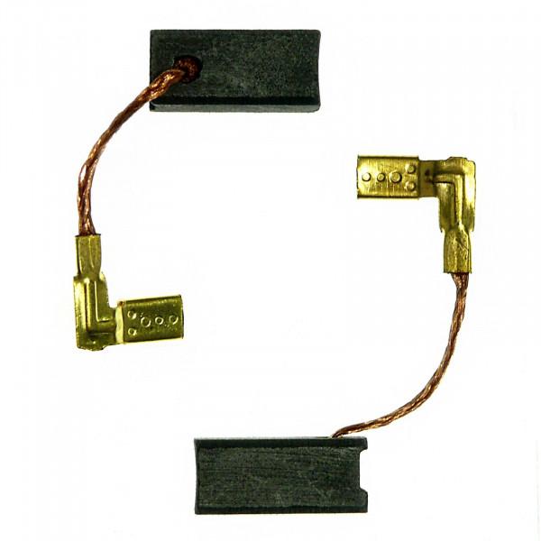 Spazzole di carbone per METABO EW 6124S, EW 6115S, EW 6125S, EW 6114S - 6,3x6,3x14 mm - PREMIUM (P2110)