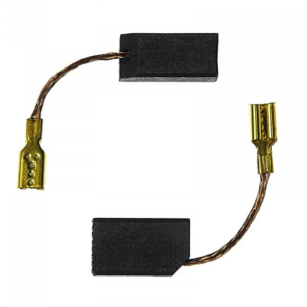 Kohlebürsten für DEWALT DW 505 KS, DW 133 A, DW 321 A, DW 321 B - 6,3x8x13,5 mm - PREMIUM (P2097)