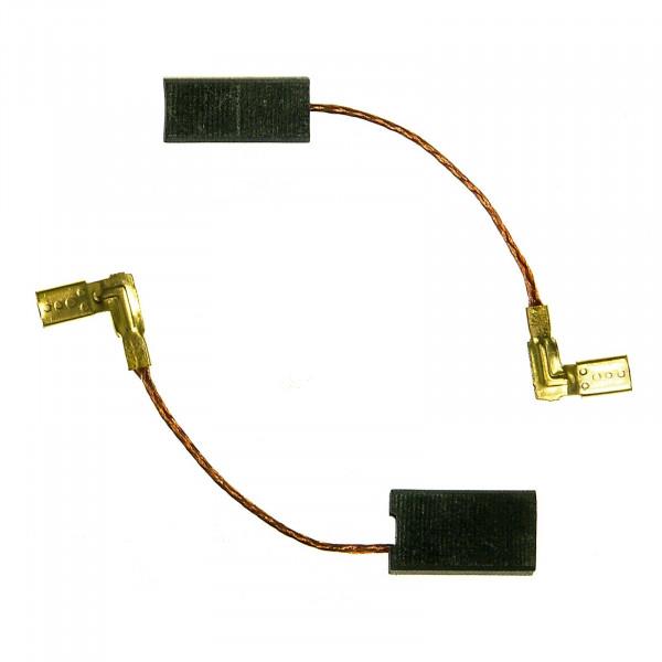 Spazzole di carbone per METABO 3360, 8382, 4382 Hobel - 6,3x8x14 mm - PREMIUM (P2107)
