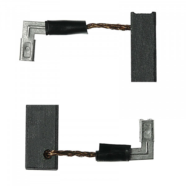 Kohlebürsten für DEWALT DWE4110, DWE4120, DWE4150, DWE4151 - 6,3x8x16,5 mm - PREMIUM (P2217)