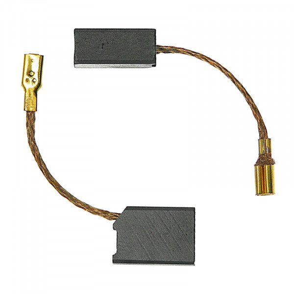 Kohlebürsten für DEWALT DW 824, DW 825, DW 826, WS41 - 6,3x10x14 mm - PREMIUM (P2095)