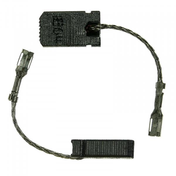 Spazzole di carbone per BOSCH GWS14-125CIT, GWS14-150 C - 5x10x18 mm - PREMIUM (P2054)
