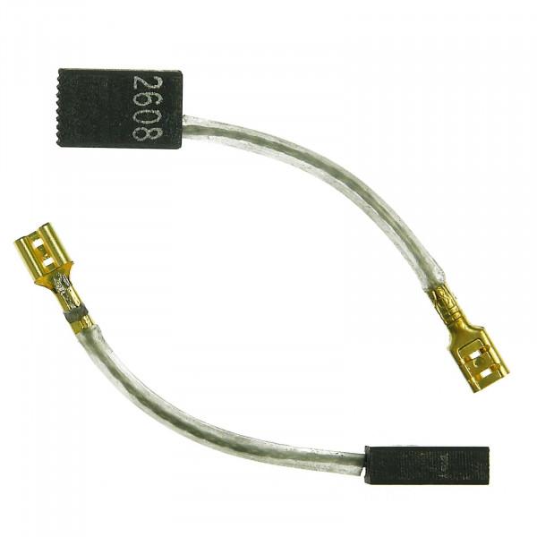 Kohlebürsten für AEG SB2E 800 RS, SB2E.800 RS, SB2E 850 RS - 5x10x16 mm - PREMIUM (P2103)