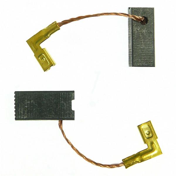Kohlebürsten für METABO EW E 9125 S, EW E 9126 S, EW E 9127 - 6,4x8x16 mm - PREMIUM (P2111)