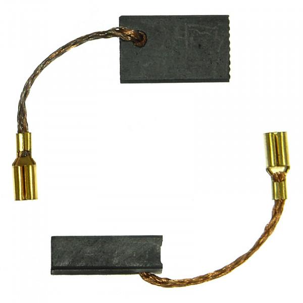 Spazzole di carbone per METABO WE 14-150 Quick, WEP 14-150 Quick, W 7-115 - 5x10x16 mm - PREMIUM (P2074)