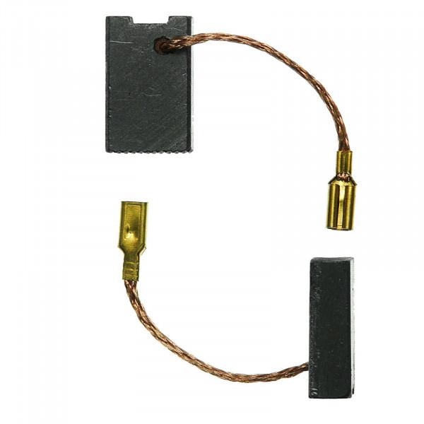 Kohlebürsten für COLLOMIX COLLOMATIC RGE 162 Duo Handrührwerk - 6x12x20 mm - PREMIUM (P2286)