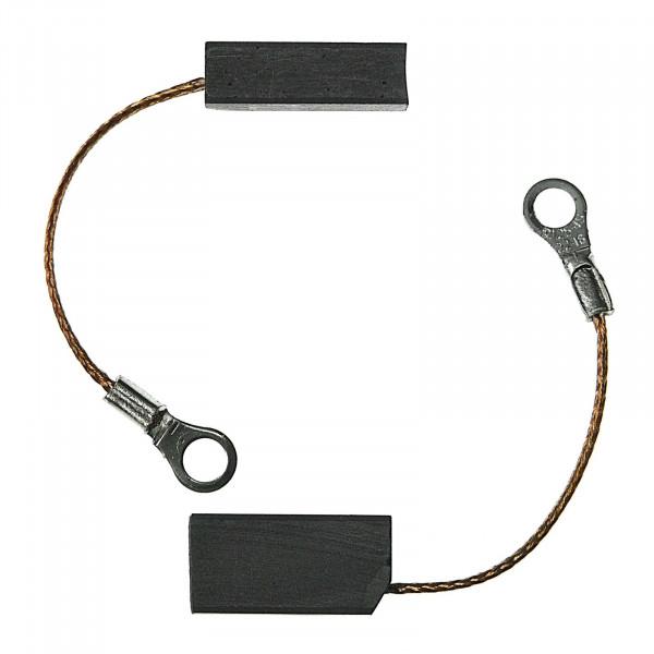 Kohlebürsten für REBIR IE-5708B Hobel ersetzt 51070260000 - 6,3x10x20 mm - PREMIUM (P2163)