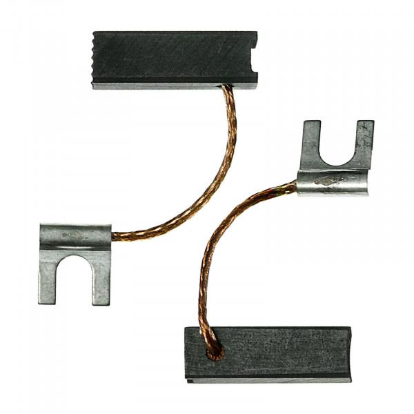 Kohlebürsten für CELMA PRDa 120 AEO - 6,4x6,4x20 mm - PREMIUM (P2006)