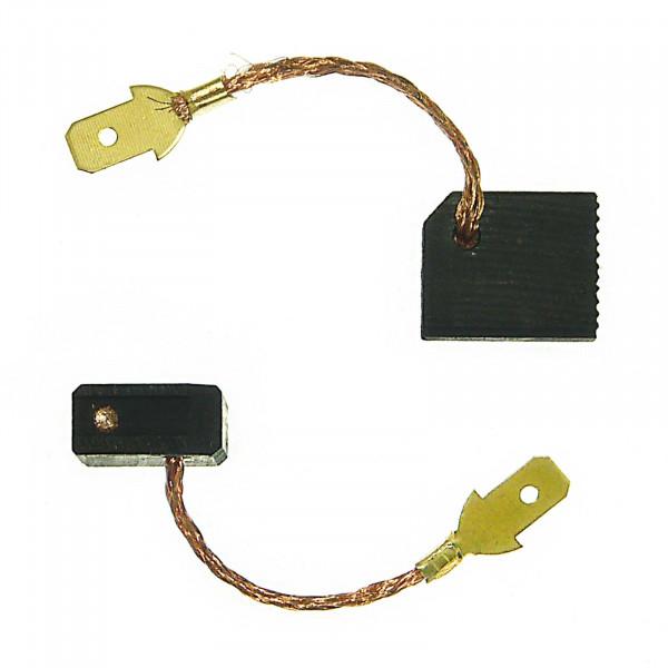 Kohlebürsten für METABO WEPA 14-125 QUICK protect ersetzt 316055770 - 6x12,5x15 mm - PREMIUM (P2204)