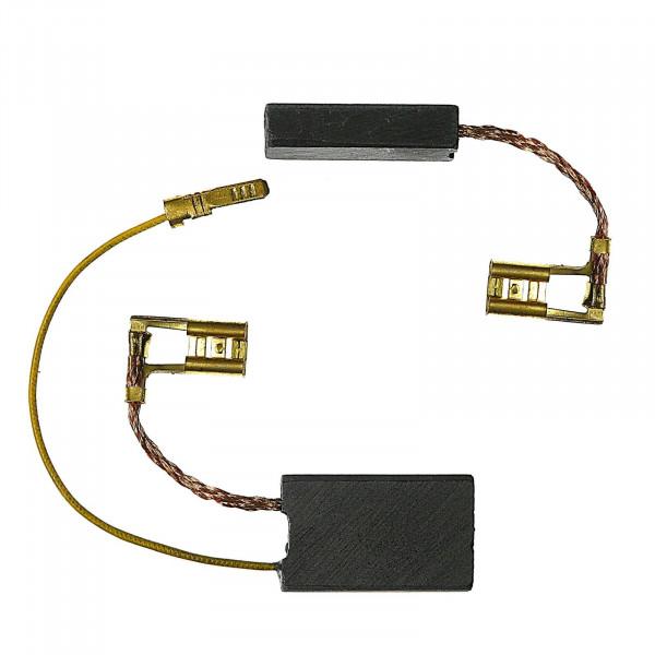 Kohlebürsten für DEWALT D 25730 KA, D 25730 KB, D 25762 K - 6,3x16x26 mm - PREMIUM (P2166)